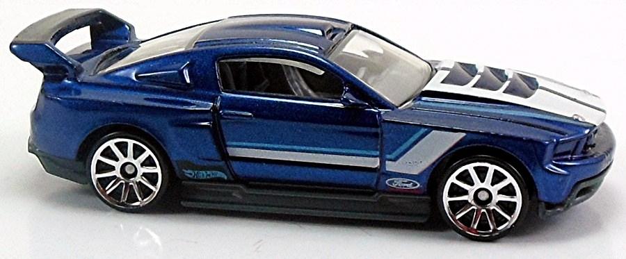 Custom 12 Ford Mustang 78mm 2012 Hot Wheels