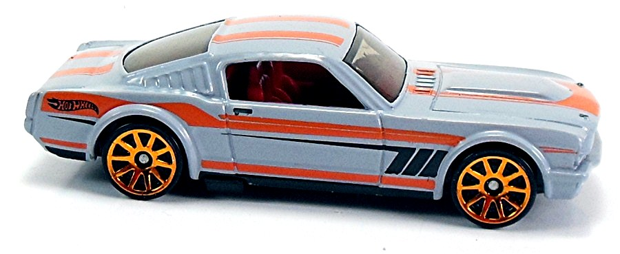2020 HOT WHEELS /'/'SPEED GRAPHICS/'/' #116 = `65 MUSTANG 2+2 FASTBACK = BLUE int