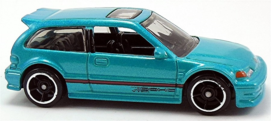 Hot Wheels 2015 HW CITY 1990 Honda Civic EF Black