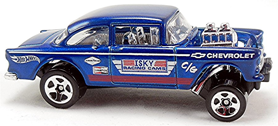 55 Chevy Bel Air Gasser 73mm 2013 Hot Wheels Newsletter
