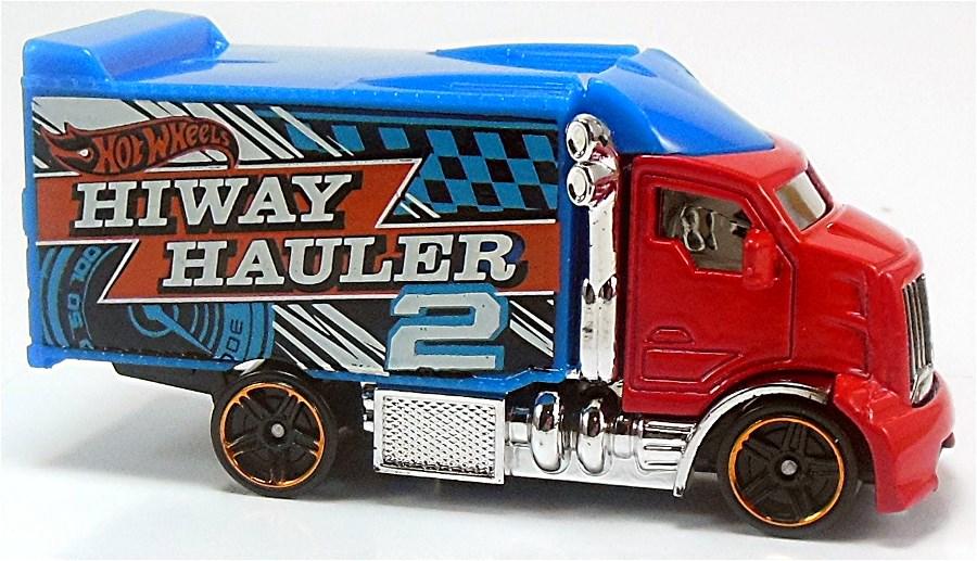2012 Hot Wheels #45 New Models Hiway Hauler 2