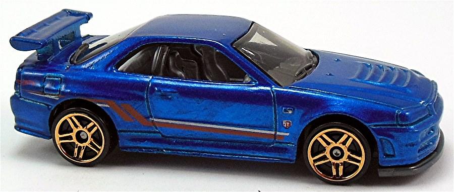 Nissan Skyline Gt R R34 R32 77mm 2010 Hot Wheels Newsletter