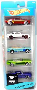 Mustang 50th 5-pack