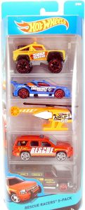 Rescue Racers 5-pack
