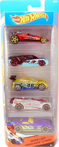 Super Loop Chase Race 5-pack