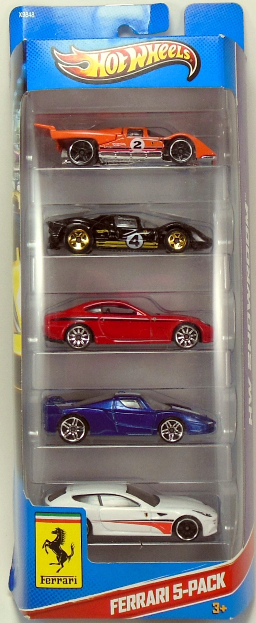 2013 5 Packs Hot Wheels Newsletter