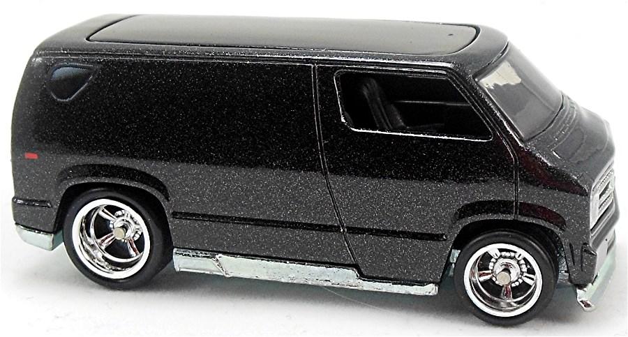 Custom '77 Dodge Van - 67mm - 2008 | Hot Wheels Newsletter
