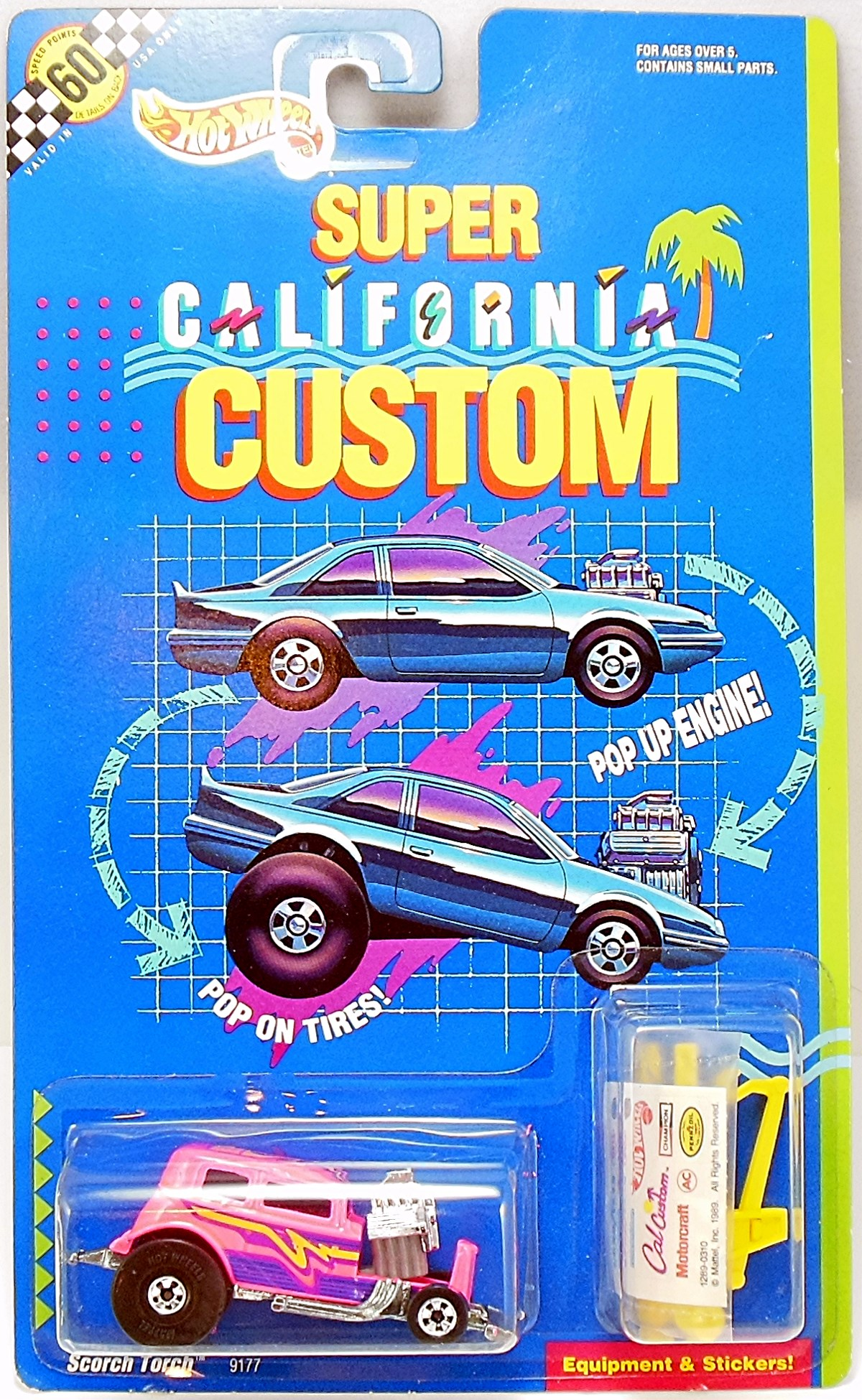 1991 Super California Customs Hot Wheels Newsletter