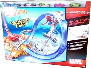 The Amazing Spider-Man Spider Loop Speedway track set