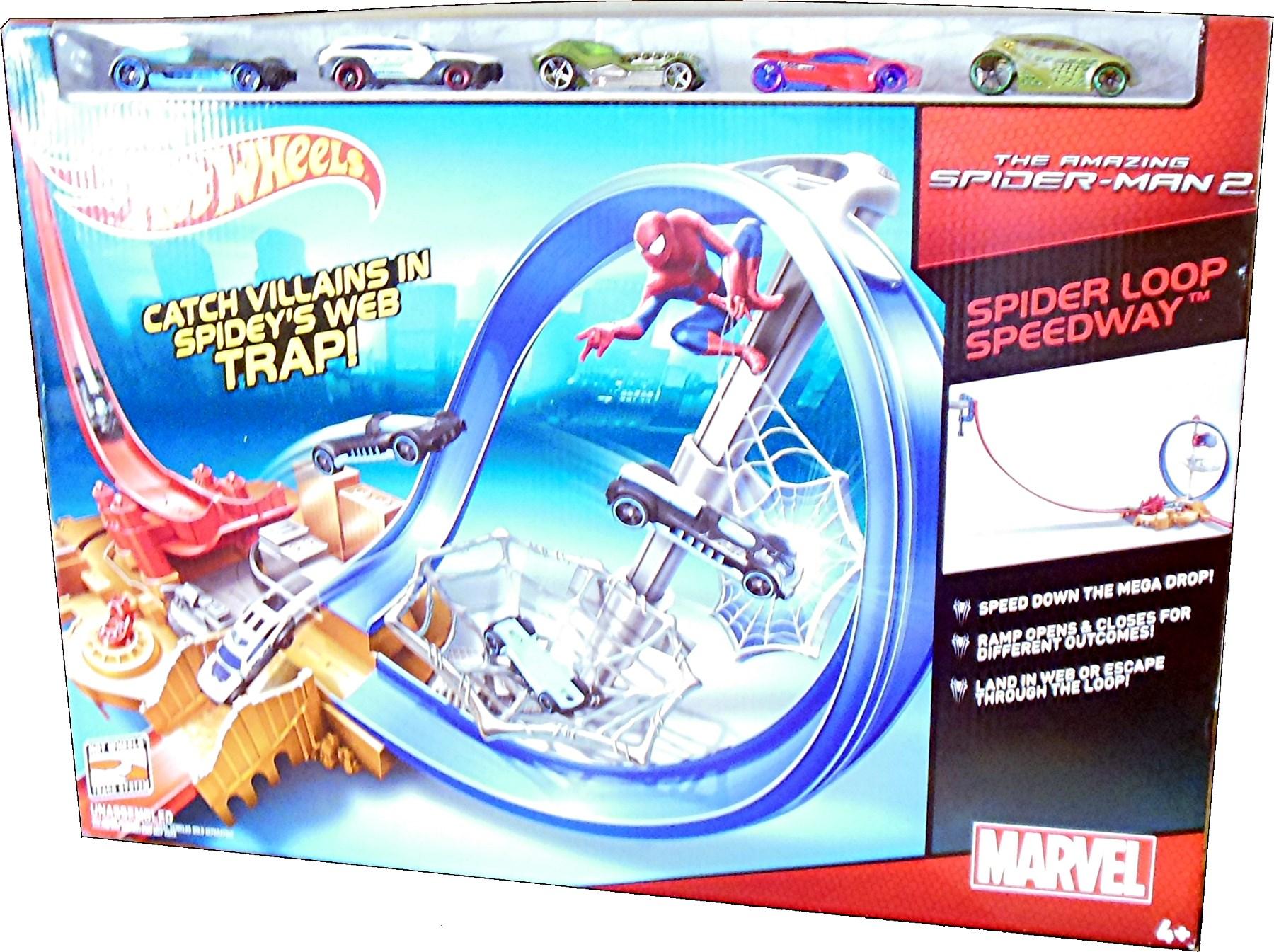 2014 Marvel SpiderMan Hot Wheels