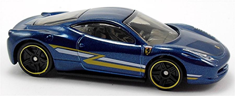 Ferrari 458 Italia 70mm 2010 Hot Wheels Newsletter