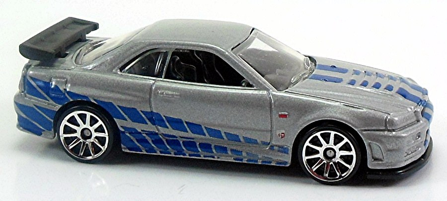 nissan skyline gt r r34 r32 77mm 2010 hot wheels. Black Bedroom Furniture Sets. Home Design Ideas