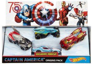 Captain America Civil War Origins 4-pack