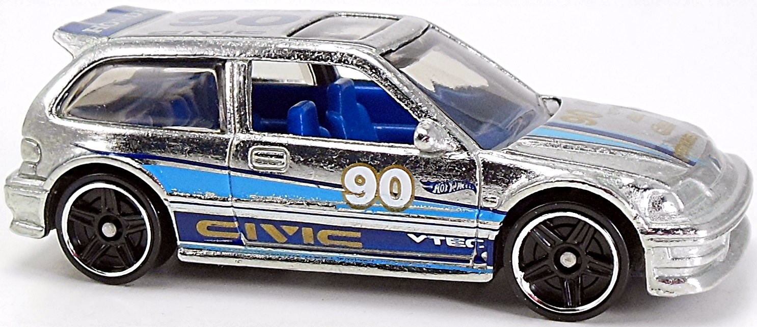 1990 Honda Civic EF - 65mm - 2014 | Hot Wheels Newsletter