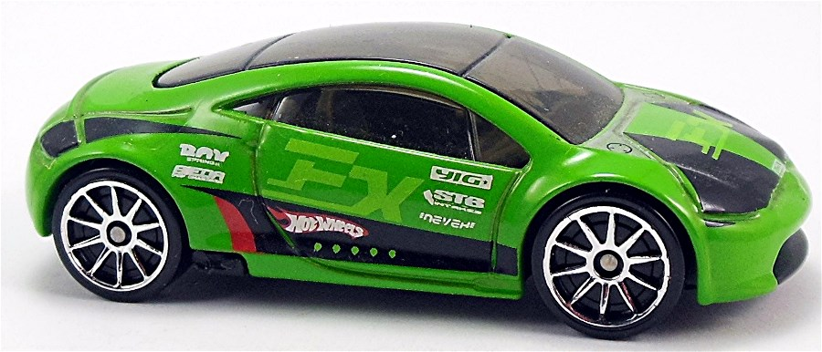 Mitsubishi Eclipse Concept Car 68mm 2005 Hot Wheels