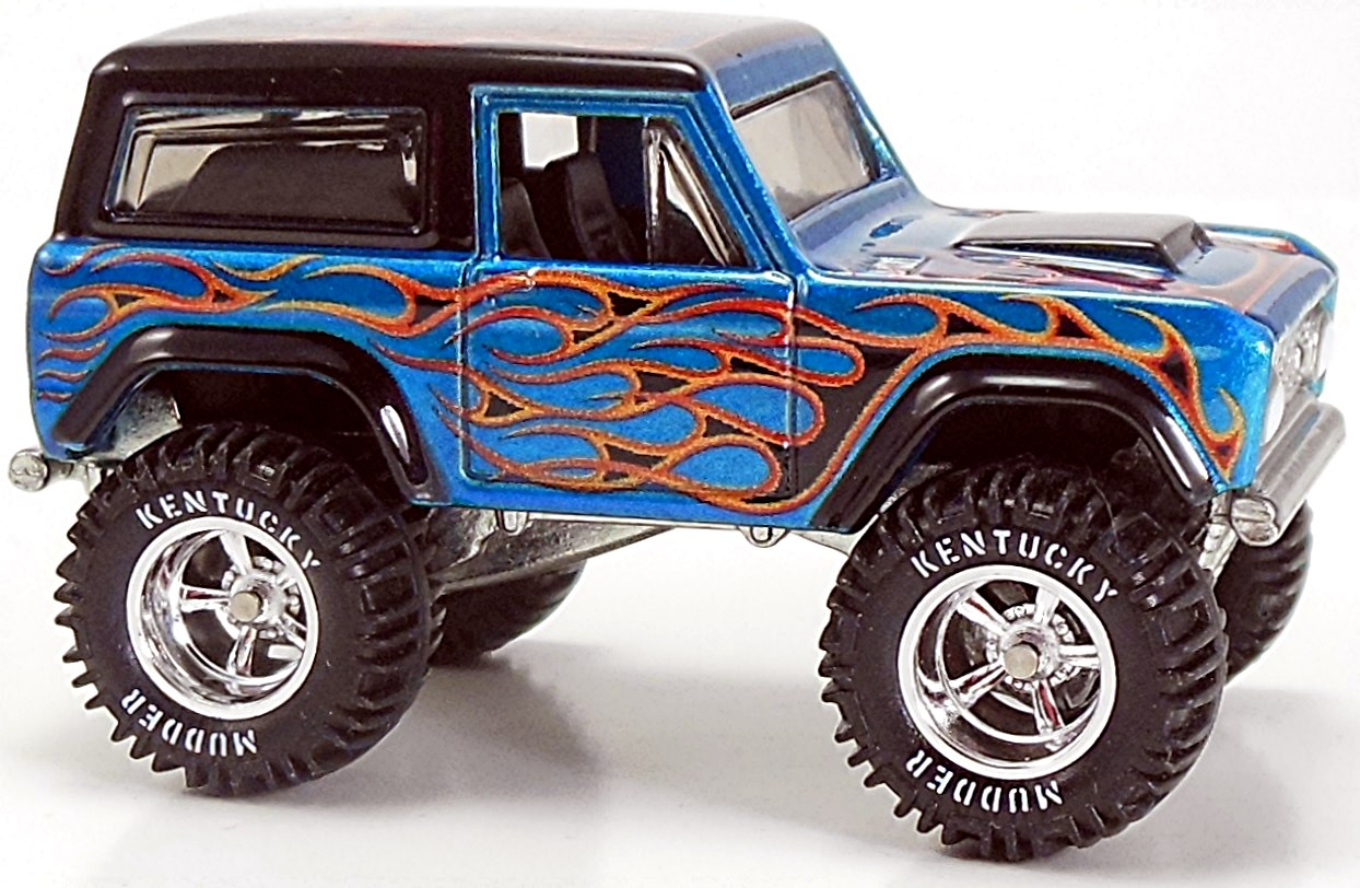 2015 Hot Wheels 15th Annual Collectors Nationals 1967 FORD BRONCO Blue W FLAMES
