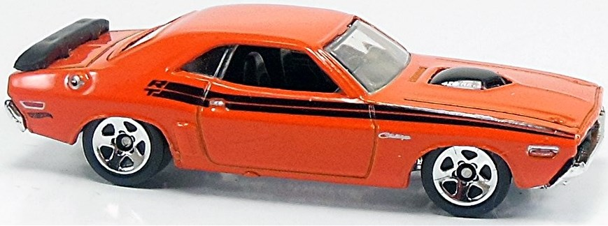 71 Dodge Challenger 74mm 2011 Hot Wheels Newsletter
