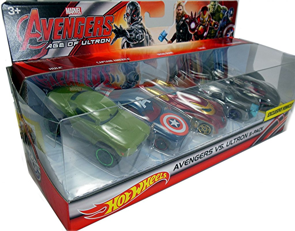 Marvels Avengers Age of Ultron 5-Pack