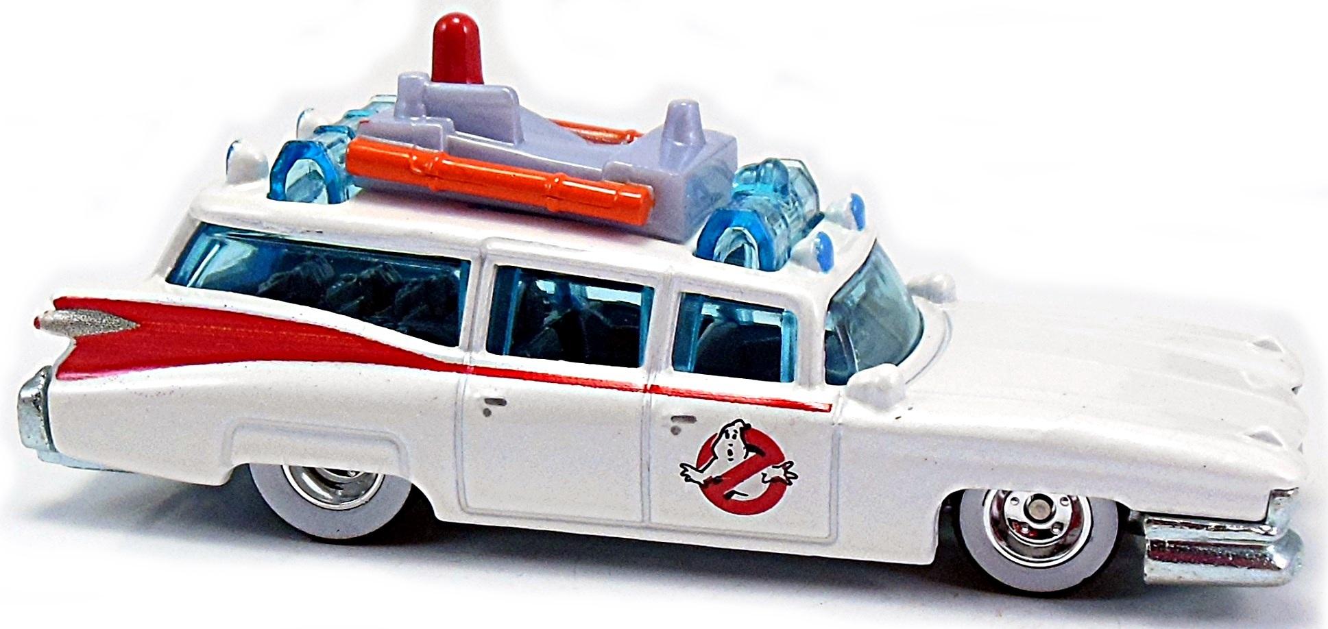 Ecto 1 Ghostbusters Cartoon Car 86mm 2015 Hot Wheels