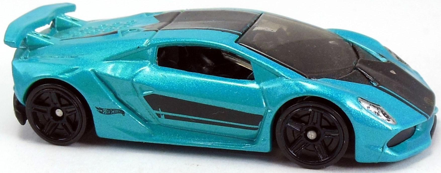 Lamborghini Sesto Elemento 67mm 2014 Hot Wheels Newsletter