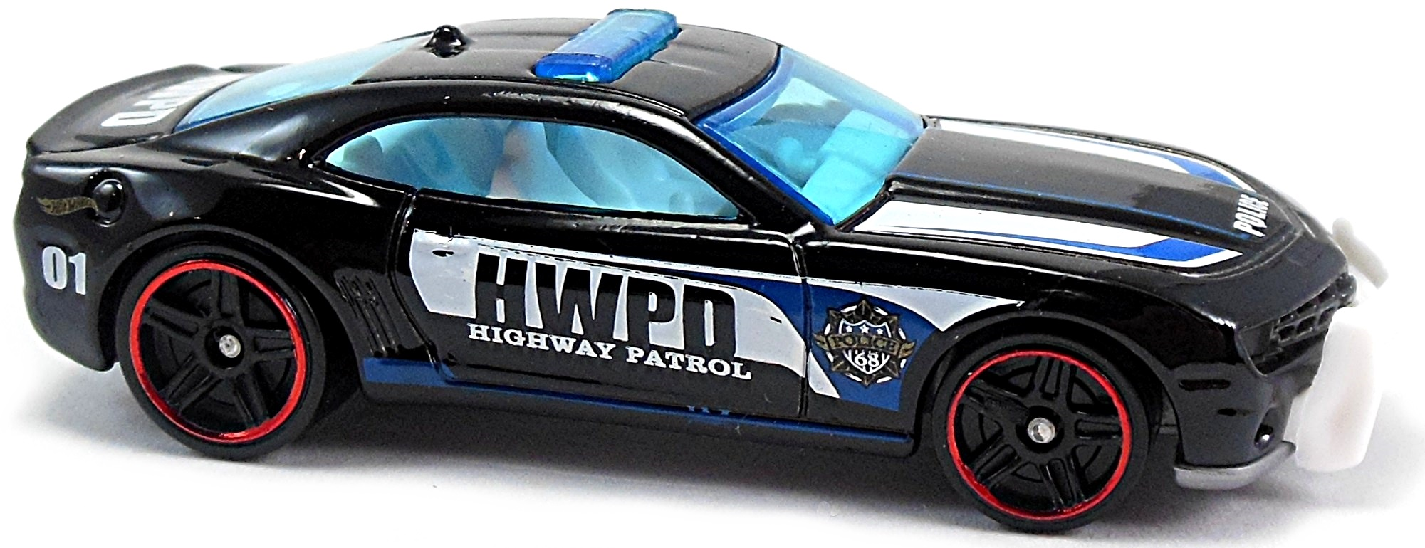 10 Camaro SS (police car) - 70mm - 2010 | Hot Wheels Newsletter