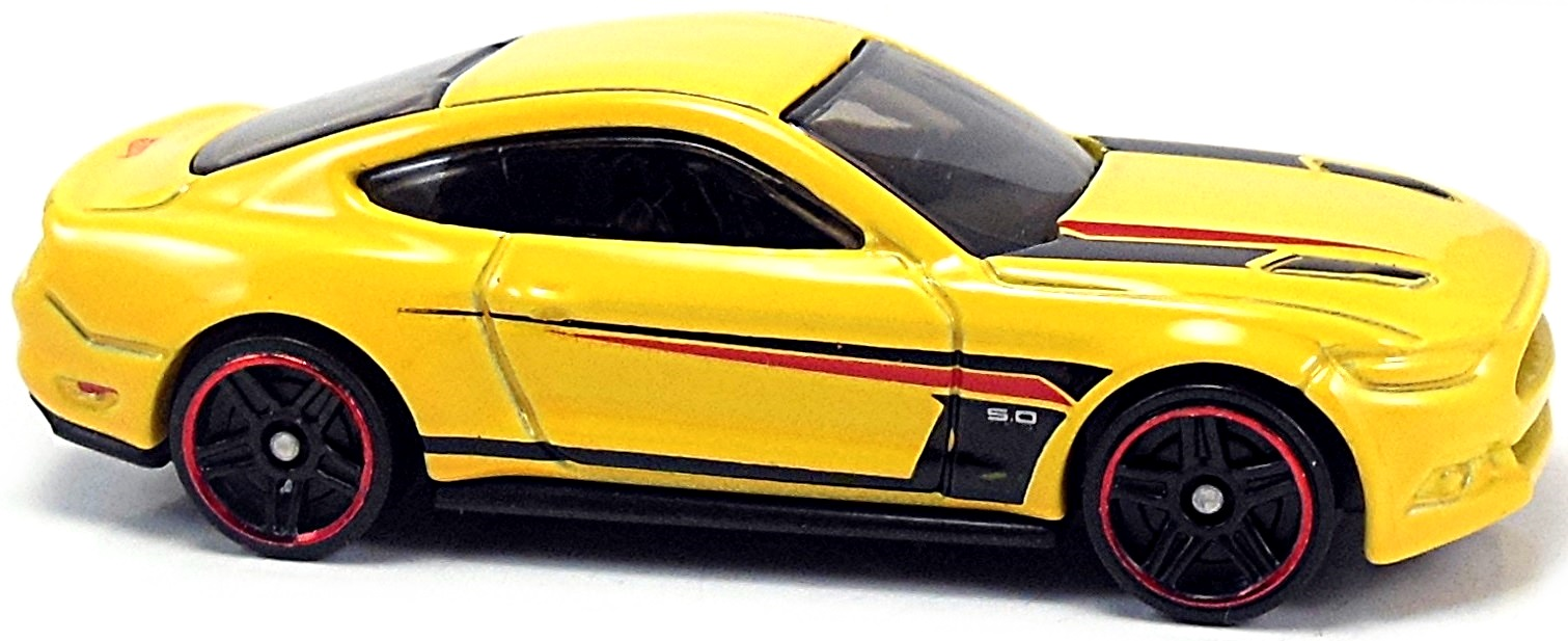 2015 Ford Mustang GT - 70mm - 2014 | Hot Wheels Newsletter