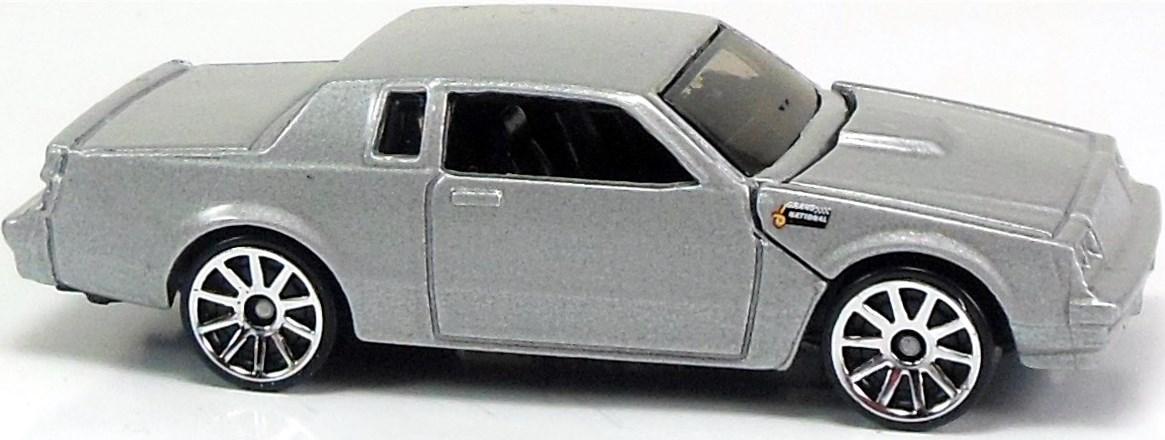 buick grand national 74mm 2007 hot wheels newsletter. Black Bedroom Furniture Sets. Home Design Ideas