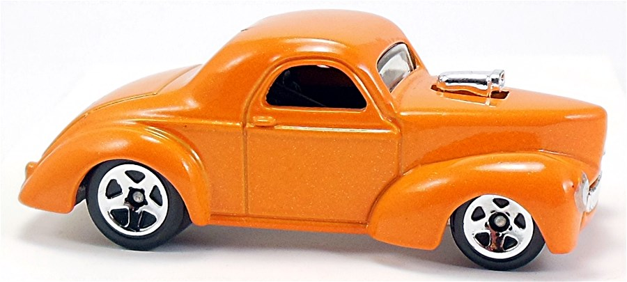 Custom '41 Willys Coupe - 68mm - 2009 | Hot Wheels Newsletter