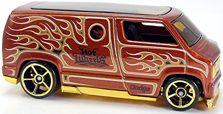 2016 HOT WHEELS HW FLAMES Custom /'77 Dodge Van