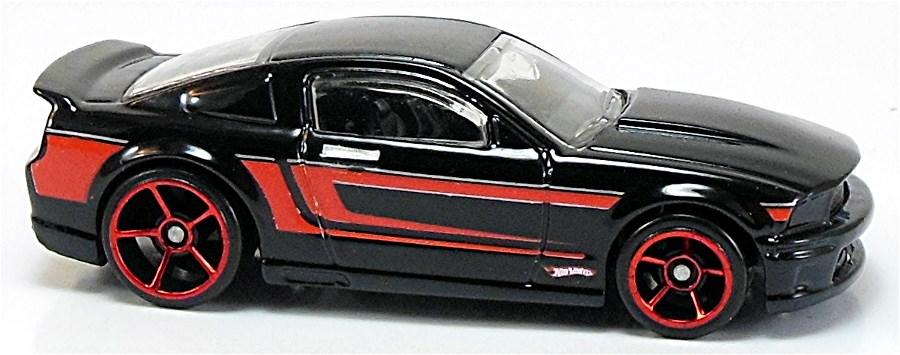 Custom 07 Ford Mustang 72mm 2008 Hot Wheels Newsletter