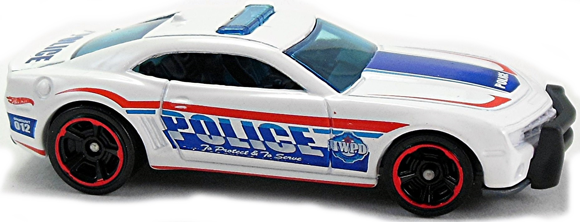 10 camaro ss police car 70mm 2010 hot wheels newsletter a mf dk blue gray base and push bar silver int blue windows and light bar blue white silver and red police design on sides pr5gd aloadofball Image collections
