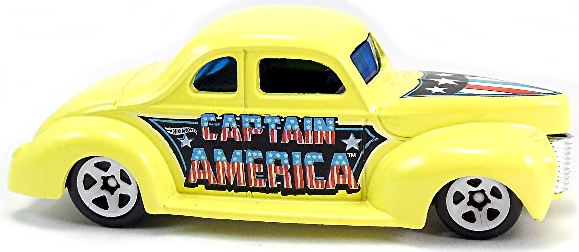 2016 75 Years Of Captain America Hot Wheels Newsletter
