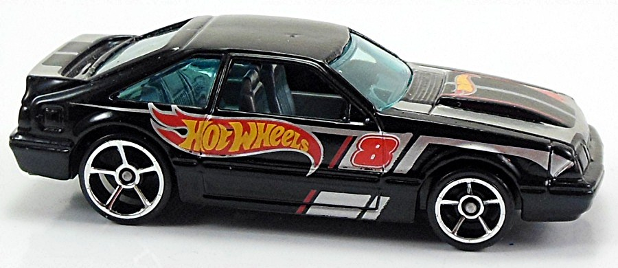 92 Ford Mustang 75mm 2008 Hot Wheels Newsletter