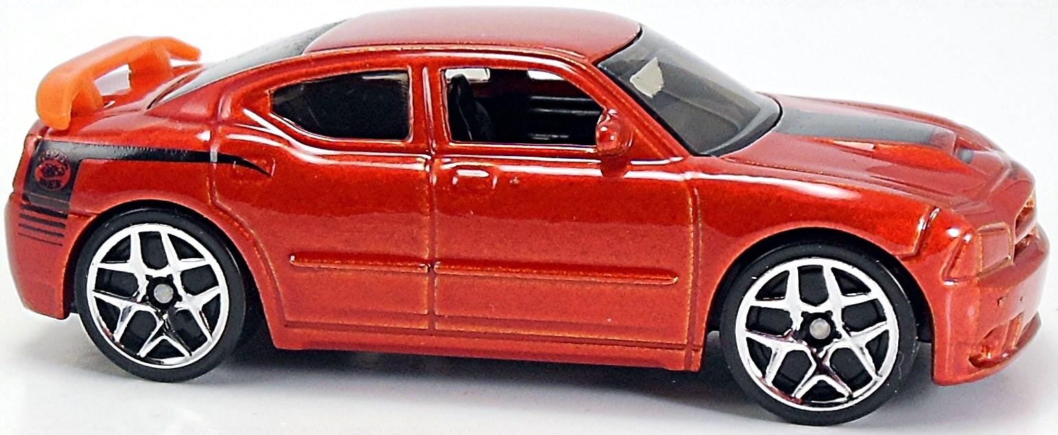 Dodge Charger Srt8 68mm 2007 Hot Wheels Newsletter