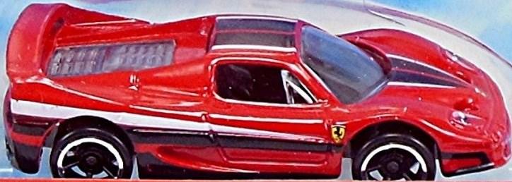 Ferrari F50 Hardtop 75mm 1999 Hot Wheels Newsletter