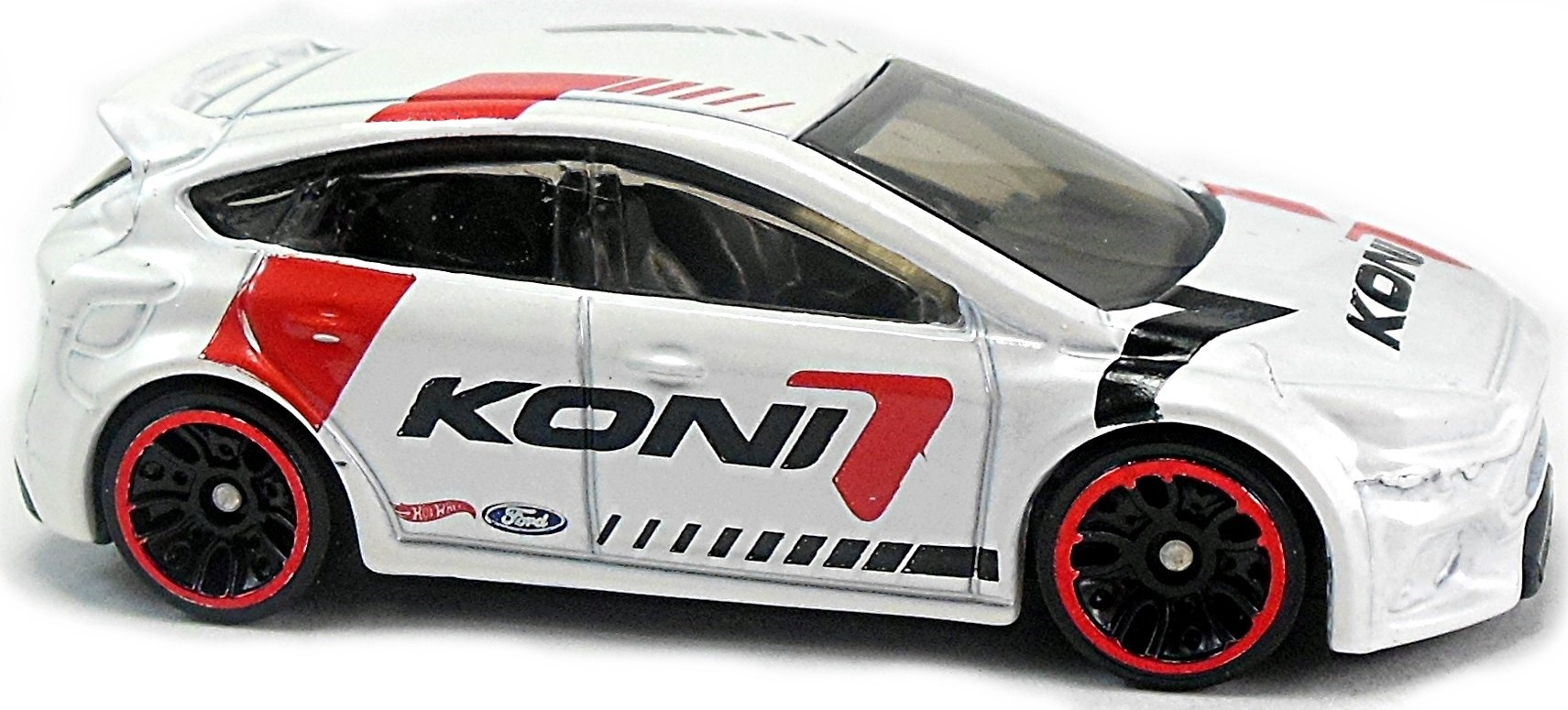 2017 Hot Wheels #79 HW Speed Graphics Ford Focus RS KONI