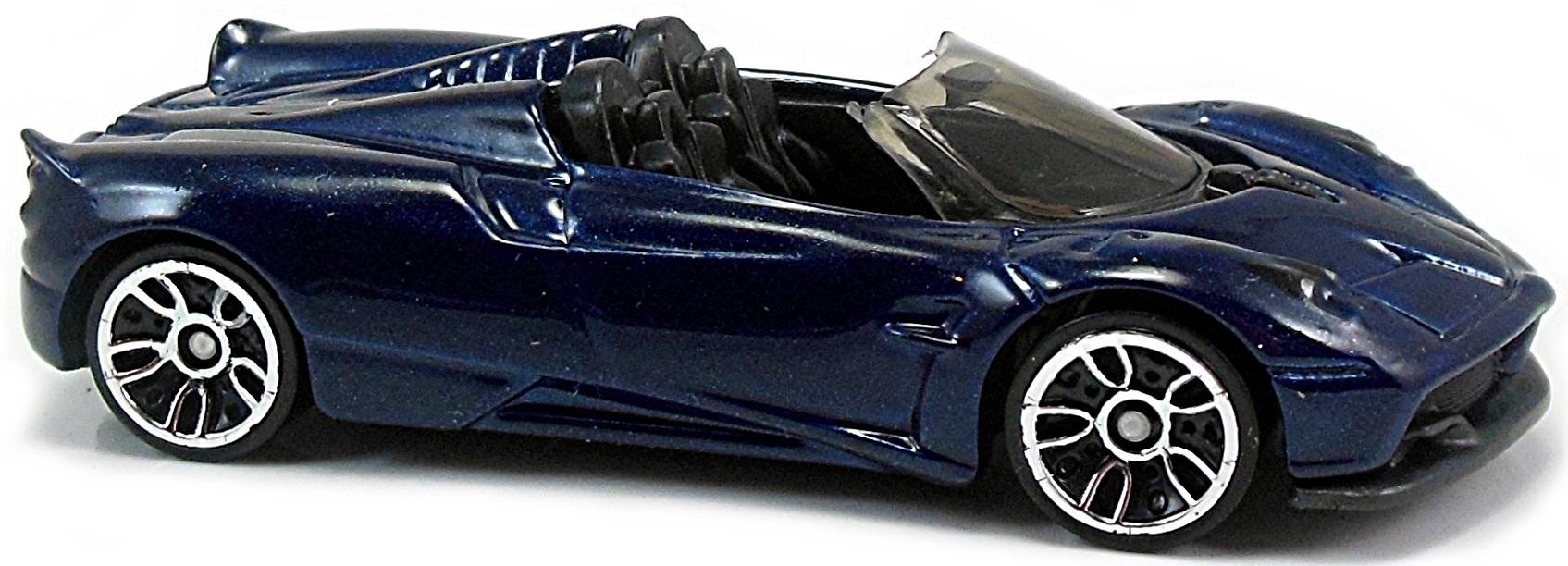 DS pagani huayra roadster : 17 Pagani Huayra Roadster - 73mm - 2017 | Hot Wheels Newsletter