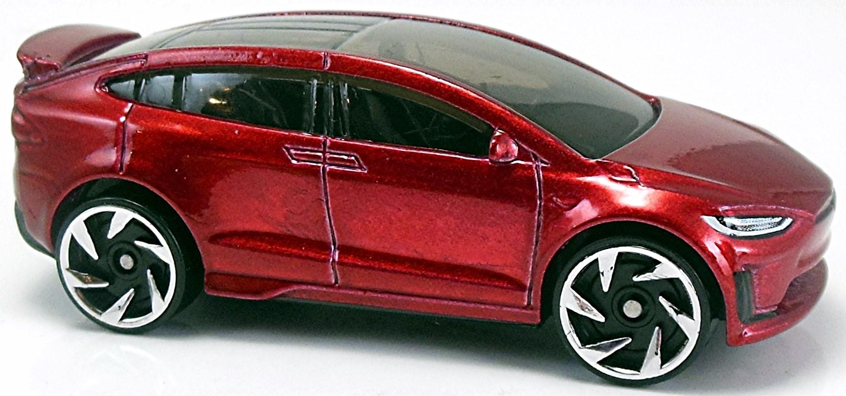 Tesla model x 77mm 2017 hot wheels newsletter for Tesla model x porte