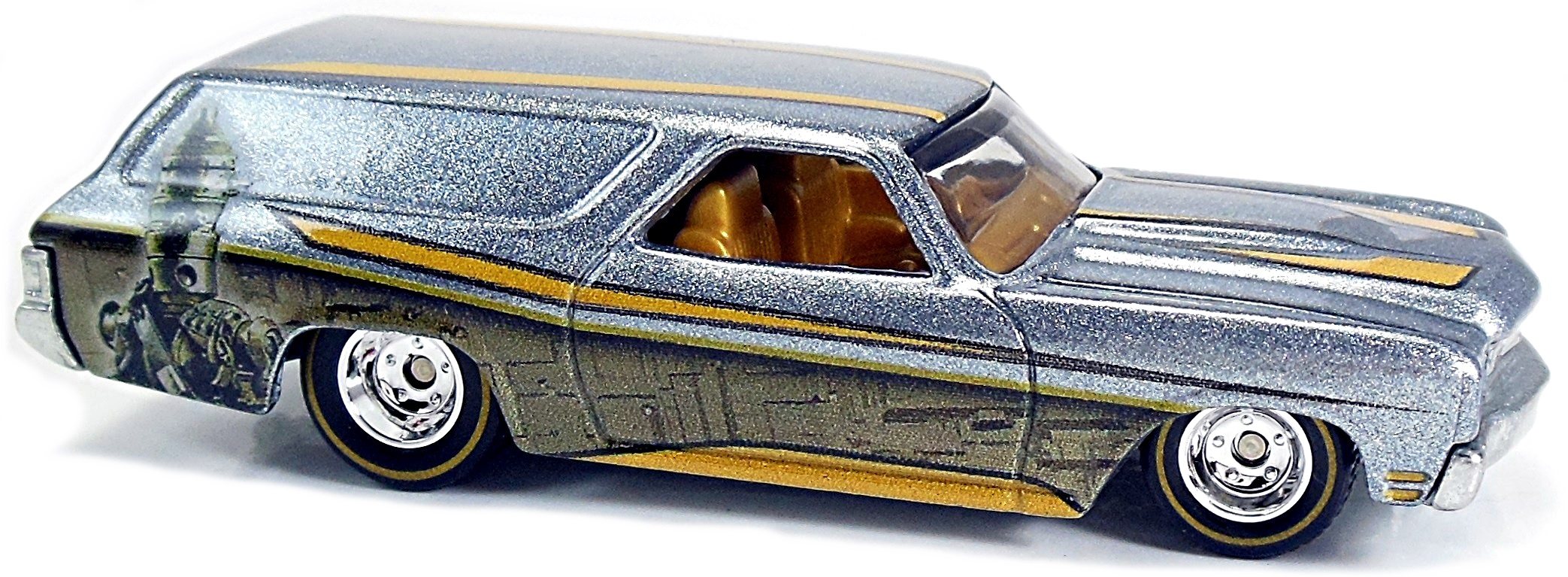 2016 Hot Wheels Pop Culture Star Trek 50th /'70 Chevelle Delivery