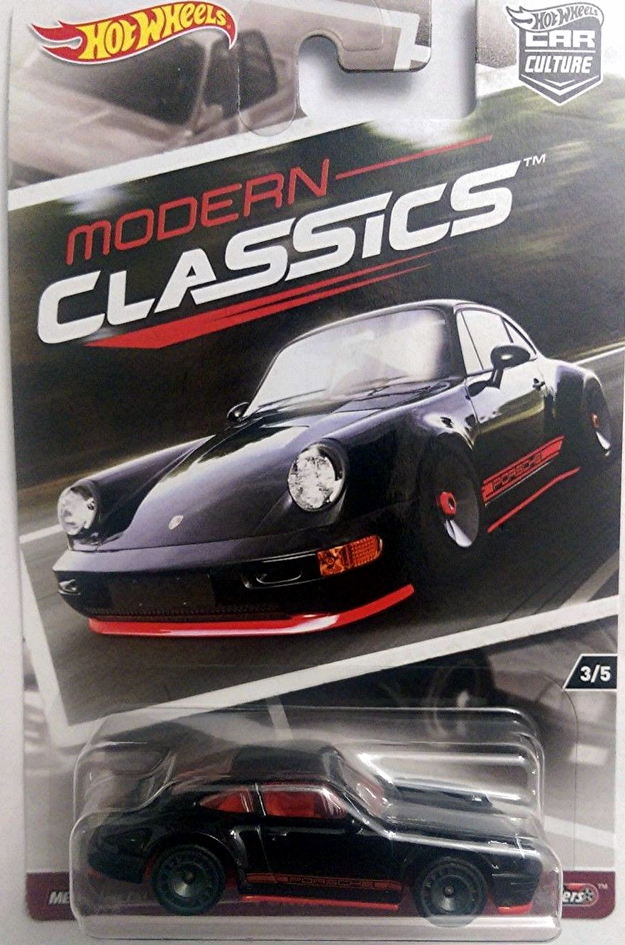 Porsche 964 2017 Hot Wheels Car Culture Modern Classics
