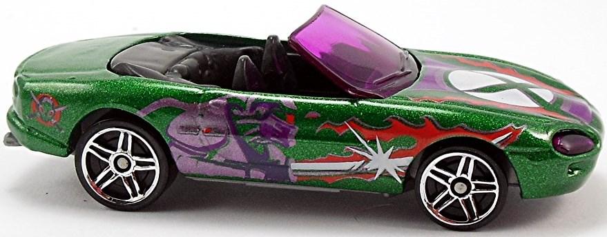 Hot Wheels Summer Racin Orange Jaguar XK-8