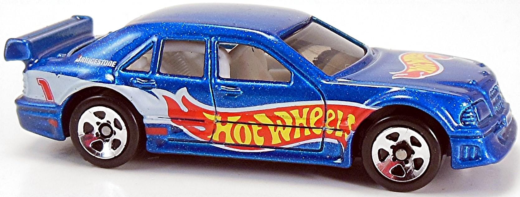 HOT WHEELS 2001 MERCEDES C-CLASS BLUE  #171