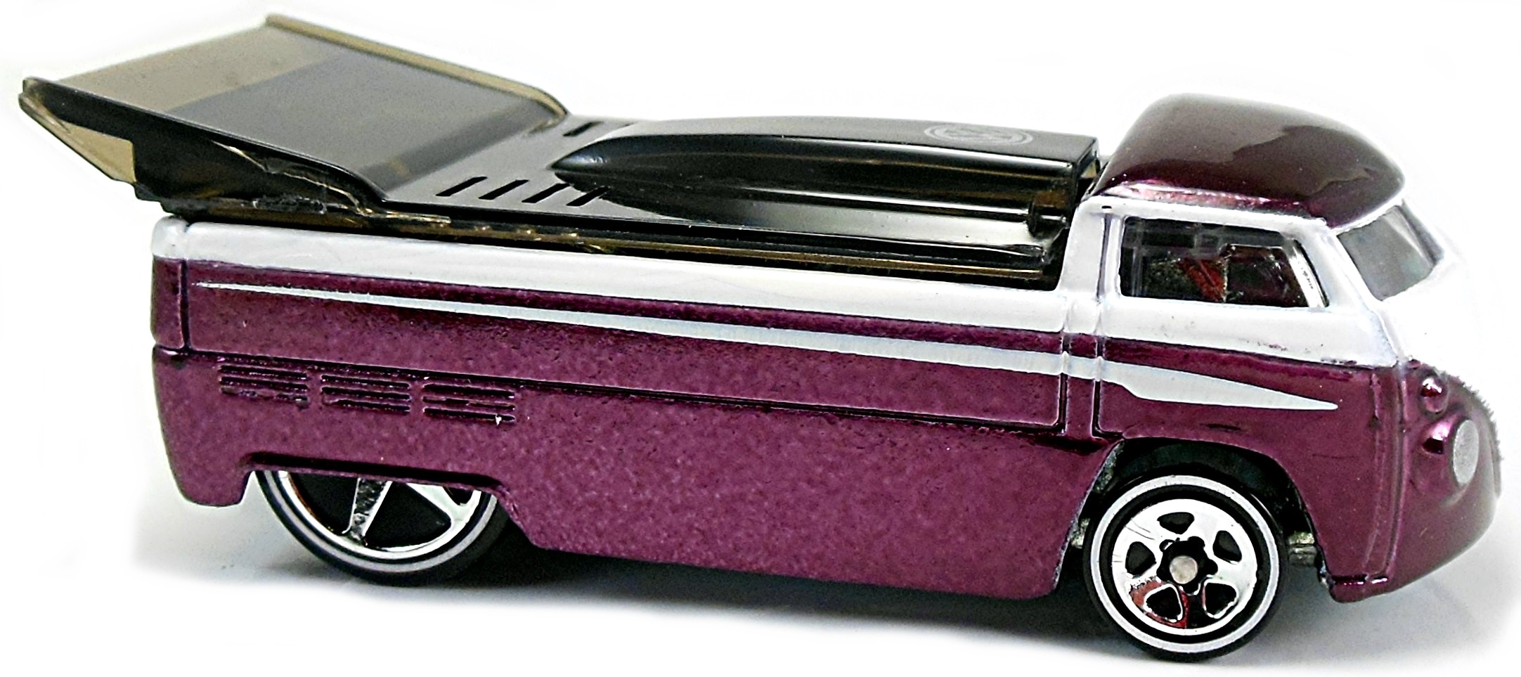 vw drag truck customized 78mm 2004 hot wheels. Black Bedroom Furniture Sets. Home Design Ideas
