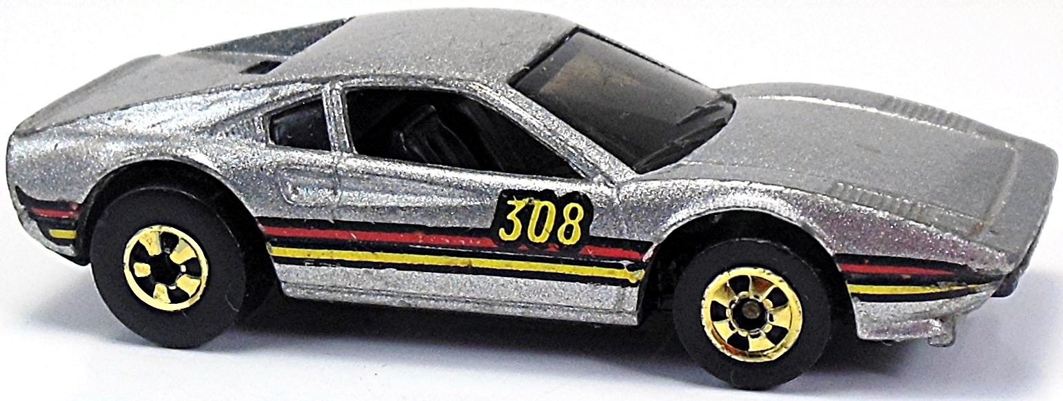 Hot Wheels Ferrari 308 2001 Gray New
