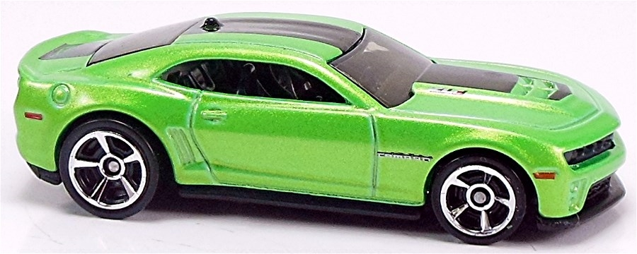 12 Camaro Zl1 71mm 2012 Hot Wheels Newsletter