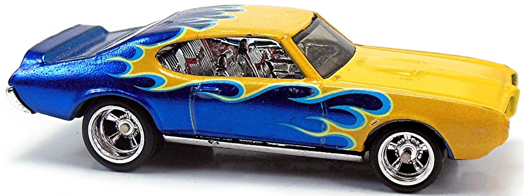 CP07 Hot Wheels Treasure Hunt /'69 Pontiac GTO 2007-121 carte courte