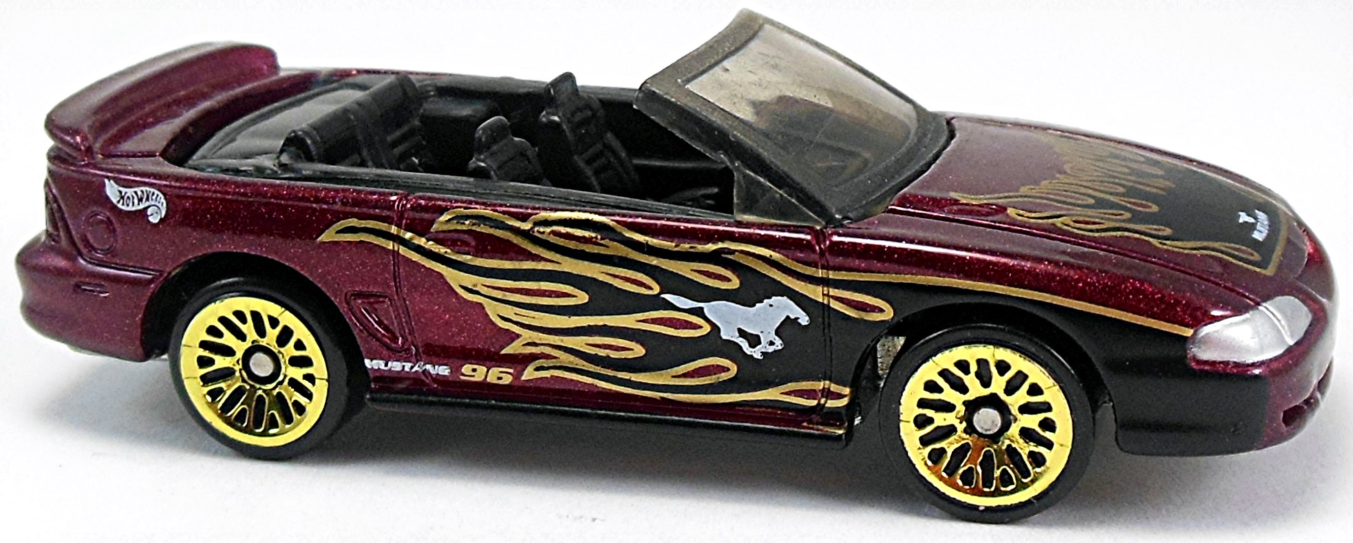 All Types 1996 mustang : 1996 Mustang GT – 67mm – 1996 to 2003 | Hot Wheels Newsletter