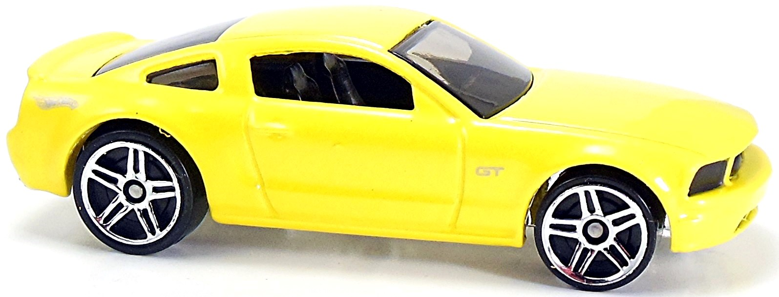 C mf yellow chrome base black int tinted windows black grille silver gt on front fender hot wheels logo on rear fenders pr5 mal ford motor