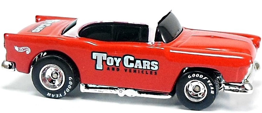 55 Chevy 72mm 1982 To 2001 Hot Wheels Newsletter