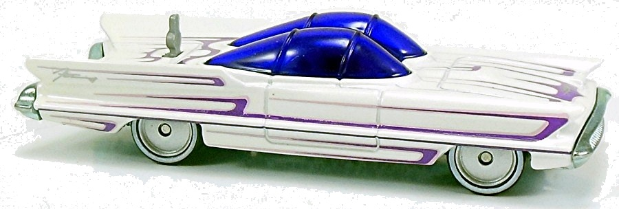55 Lincoln Futura Concept 80mm 2012 Hot Wheels Newsletter